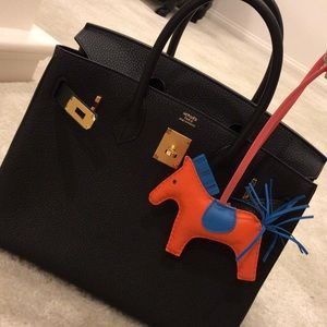 ... sweden hermes accessories hermes rodeo horse bag charm mm poppy  bluezanzibar 06a7f 118da f60255f48e742